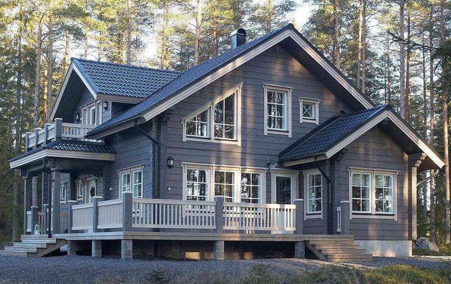Строительство деревянных домов, коттеджей под ключ в Екатеринбурге