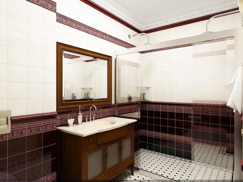 заказать дизайн проект ванной комнаты